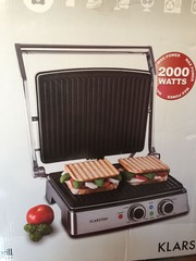 Бутербродница-гриль Klarstein 2000W